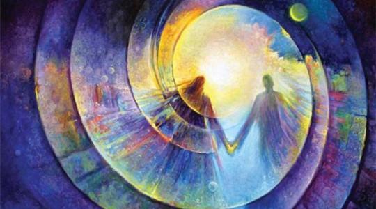 Вхождение в поле совершенной судьбы. Связь с полем сознания через кристаллическую структуру мозга. Состояние легкости.