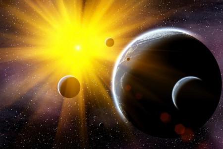 Солнце, его планеты и люди. Глава первая