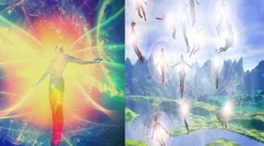 Слияние с духом и Вознесение после жизни