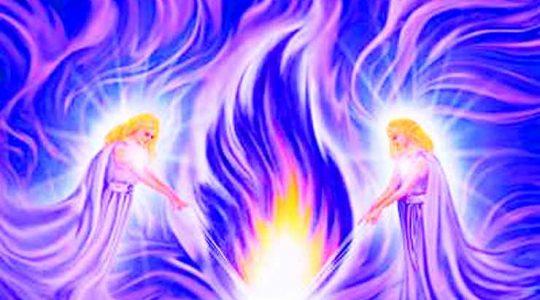 Космический Огонь Воли Бога