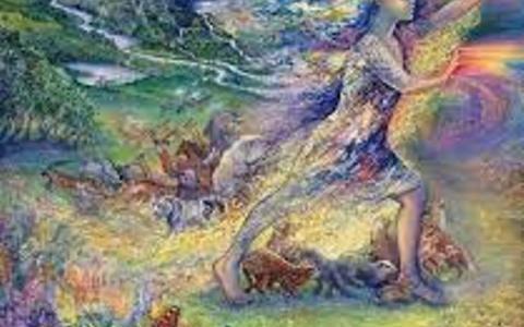 Соло процессинг Ирины Золиной «Сверхсознательное облако»